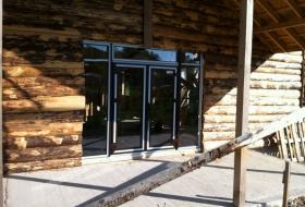 Окна KRAUSS в охотничный дом